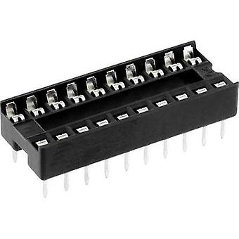 IC socket Contact spacing: 7.62 mm Number of pins: 8 econ connect