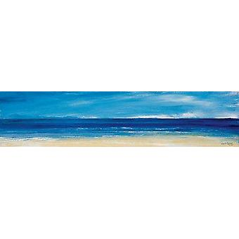 Ronnie Leckie print - Aqua Blues 1