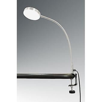 LED booklight, what C, Daylight White, 4.5 W, nickel matte, 10443
