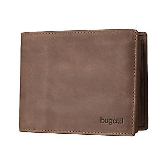 Bugatti Volo mens wallet wallet purse Brown 3571