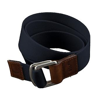 GOLF belts belts men's belts textile belt with double ring uni blue 3494