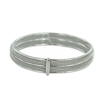 Skagen Ladies Bangle Bracelet Milanaiseband silver JGSS029M