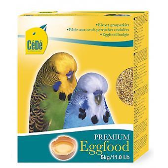 Afstå Budgie æg fødevarer 5kg