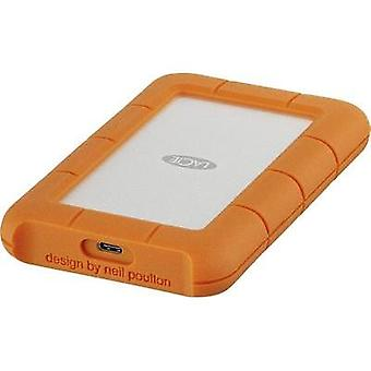 2.5 external hard drive 1 TB LaCie Rugged Mobile Drive Silver, Orange USB-C™