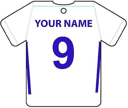 Personalised Tranmere Rovers Football Shirt Car Air Freshener