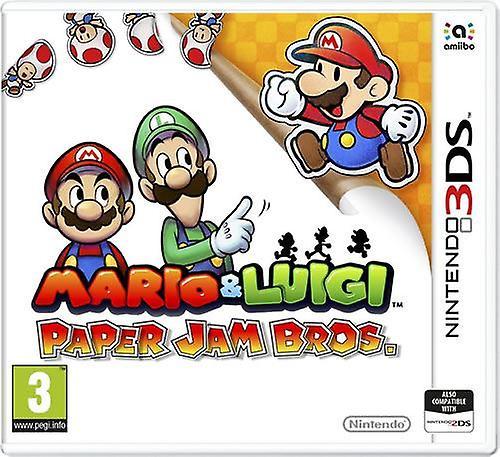Mario y Luigi papel Jam Nintendo 3DS
