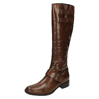 Ladies Van Dal Riding Style Long Boots Reva