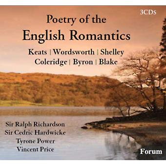 Poetry Of The English Romantics by Various