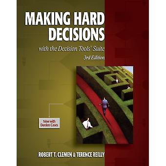 Making Hard Decisions with Decisiontools (Hardcover) by Clemen Robert T. Reilly Terence