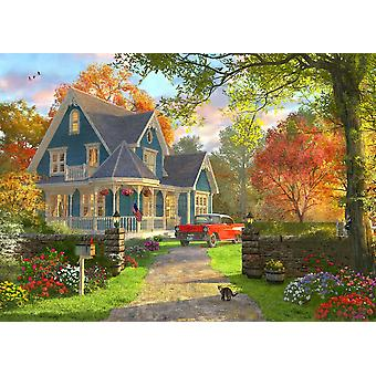 September Home Poster Print by Dominic Davidson