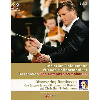 L.V. Beethoven - sinfonías 1-9 importación de Estados Unidos (Blu Ray) [BLU-RAY]