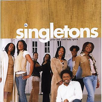 Singletons - Pour Out Your Holy Spirit [CD] USA import