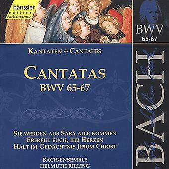 J.S. Bach - Bach: Cantatas, Bwv 65-67 [CD] USA import