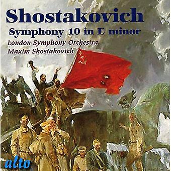 D. Shostakovich - Shostakovich: Symphony No. 10 [CD] USA import