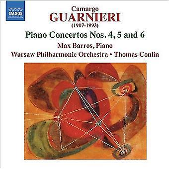 M.C. Guarnieri - Camargo Guarnieri: Piano Concertos nr 4, 5 & 6 [CD] USA import