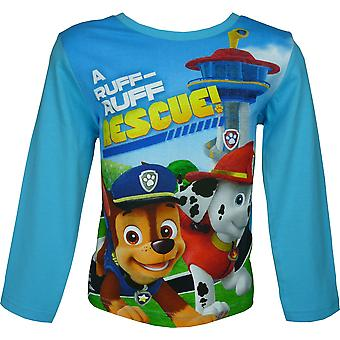 Boys Paw Patrol T-Shirt Long Sleeve