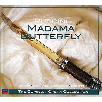 G. Puccini - Puccini: Import USA Madama Butterfly [CD]