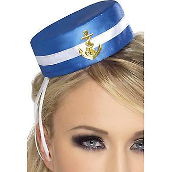 Sailor Hat ladies sea mail sailor hat with clip