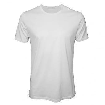 Ermenegildo Zegna Filoscozia De Luxe Crew-Neck T-Shirt, hvid