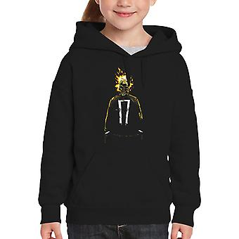 Ambassadør for hævn Ghost Rider Kid er hætte Sweatshirt
