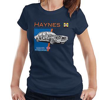Haynes Owners Workshop Manual 0108 Vauxhall Victor VX4-90 Women's T-Shirt
