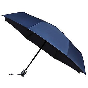 AMOS Auto Open & sluiten opvouwbare paraplu - Navy