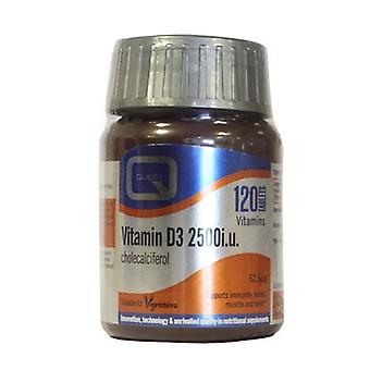 Quest Vitamin D3 2500i.u 120caps