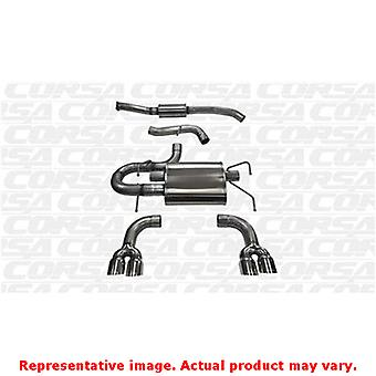 CORSA Performance Cat Back Exhaust 14862 Polished Fits:SUBARU 2008 - 2011 IMPRE