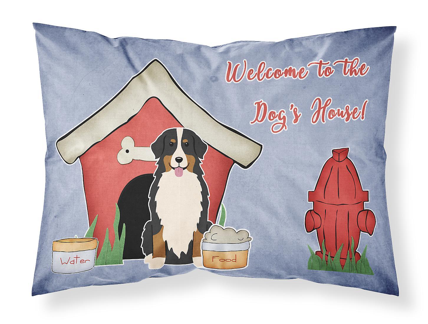 D'oreiller Bernese Mountain Standard Tissu Taie De Dog House Collection bf7IYyv6g