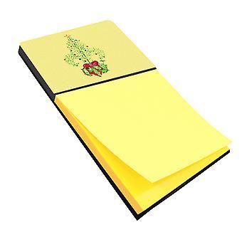 Christmas Tree-Fleur de lis Refiillable Sticky Opmerking houder of Postit Opmerking Dispen
