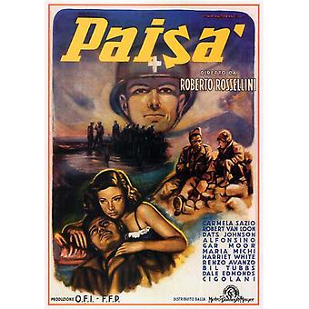 Paisan Movie Poster (11 x 17)