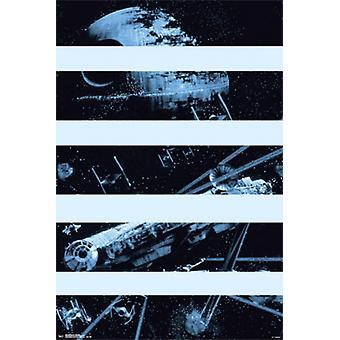 Star Wars - Falcon Bars Poster Poster Print