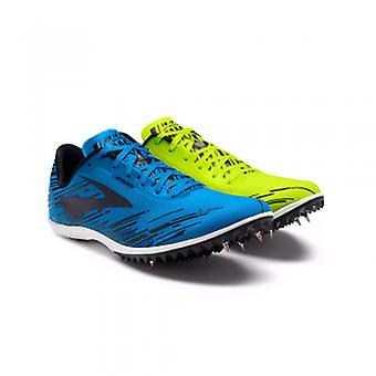 Mach 18 Mens Cross Country Spikes Yellow/Blue