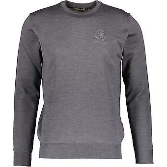 Roberto Cavalli FSM603MQ030 5013 Grey Jumper Sweater