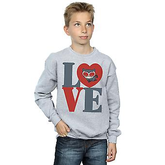 DC Comics Boys Chibi Catwoman Love Sweatshirt