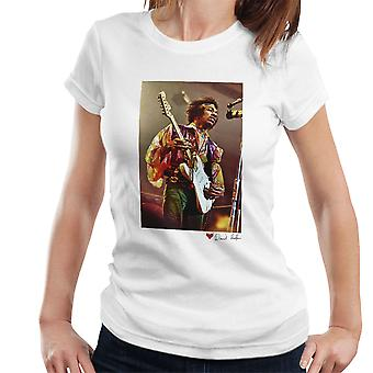 Jimi Hendrix At The Royal Albert Hall 1969 White Women's T-Shirt