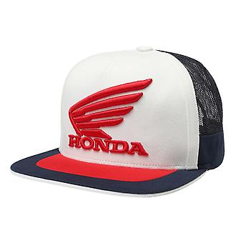 Fox Honda Snapback Cap - Navy / White
