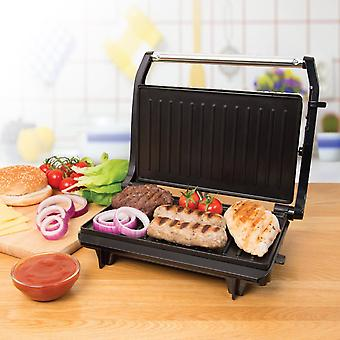 2 skive Panini ristet Sandwich Toastie Maker & sundhed Grill 700W