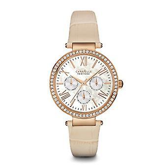 Caravelle New York kvinders 44N105 Crystal rem armbånd