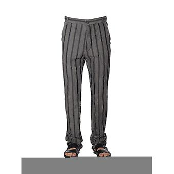 Nostrasantissima men's PP0613987 grey cotton pants