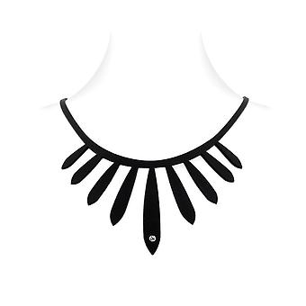 Ethnic necklace in Silicone black tattoo effect