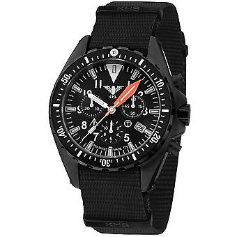 KHS MissionTimer 3 mens watch watches field chronograph KHS. MTAFC.NB