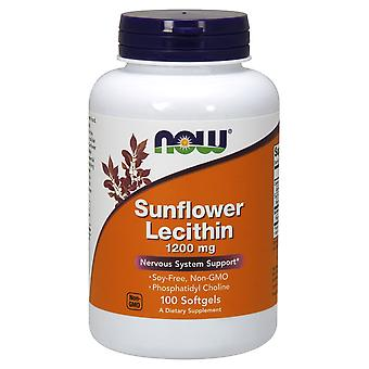 Now Foods Sunflower Lecithin 1200 mg 100 softgels