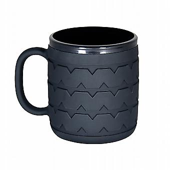 Wrenchware Car Wheel and Tyre Mug - Black Wall