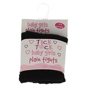 赤ちゃん女の子ティック タック プレーン タイツ