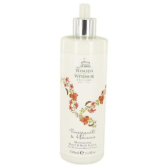 Pomegranate & Hibiscus Hand & Body Lotion By Woods of Windsor