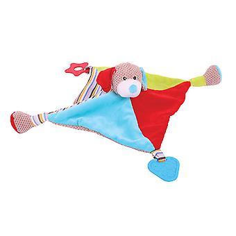 Bigjigs speelgoed zachte pluche Bruno Comforter veiligheid lekker deken pasgeboren