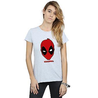Bewundern Sie die Frauenunterhemde Deadpool Maske