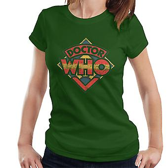 Doctor Who 70s Logo Women's T-Shirt