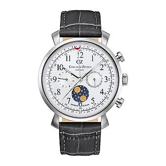 Carl of Zeyten men's watch wristwatch quartz Urach CVZ0015SL